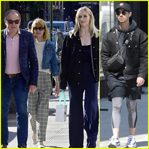 Sophie Turner Spends the Day in NYC with Her Parents & Joe Jonas!