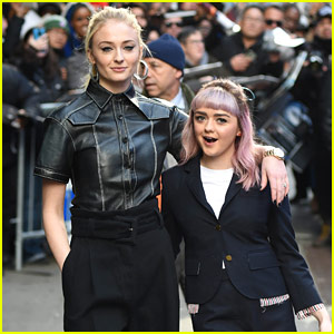 Sophie Turner & Maisie Williams Are Total Friendship Goals on 'GMA'