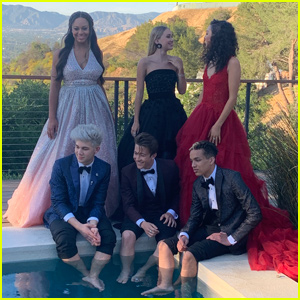 Nia Sioux & Emily Skinner Go Behind-the-Scenes YSBnow's Prom Shoot!