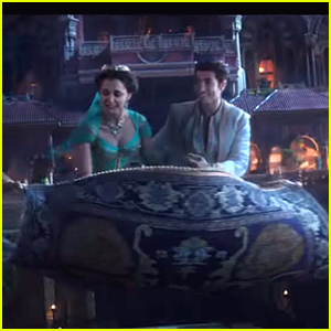 Aladdin Takes Jasmine On a Magic Carpet Ride in New Clip - Watch Now!