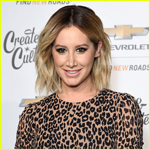 Ashley Tisdale Is Already Back In The Studio, Felt Inspired