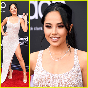 Becky G Sparkles on Red Carpet at BBMAs 2019!