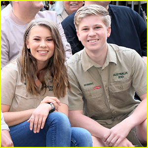 Bindi Irwin Shares Cutest Baby Pic of Brother Robert for National Brother's Day