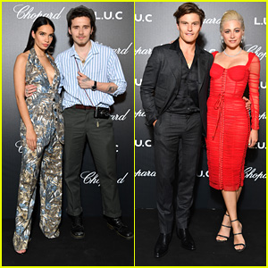 Brooklyn Beckham & Pixie Lott Bring Their Partners To Gentleman's Evening Private Dinner at Cannes
