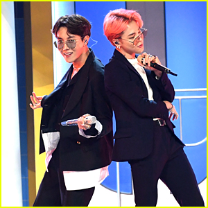 BTS & Halsey Slay Their Debut Live Performance of 'Boy With Luv' at Billboard Music Awards!