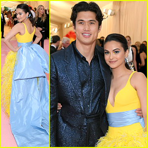 Camila Mendes & Charles Melton Couple Up For Their First Met Gala Together