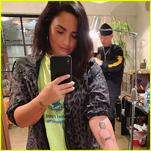 Demi Lovato Says This New Tattoo is Her Most Meaningful One Yet