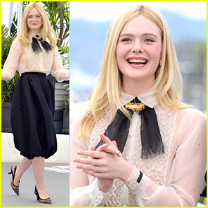 Elle Fanning Stuns at Cannes Film Festival 2019's Jury Photocall