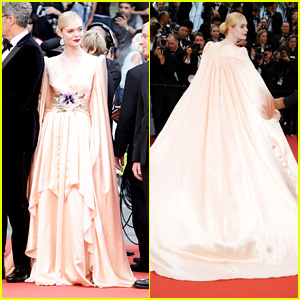 Elle Fanning's Gucci Gown She Wore at Cannes Film Festival 2019 Comes With a Cape!