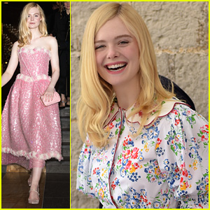 Elle Fanning Dishes On Her Gorgeous Cannes Fashion