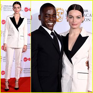 Netflix Stars Emma Mackey & Ncuti Gatwa Step Out For BAFTA TV Awards 2019 Together