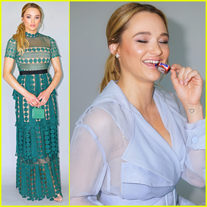 Hunter King Sticks Mini Snickers Candy In Her Bag For Daytime Emmys 2019 After Party