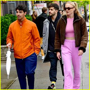 Joe Jonas & Sophie Turner Take a Stroll Through NYC After Getting Married!