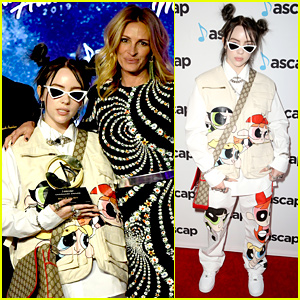 Billie Eilish Gets Support From Julia Roberts at ASCAP Pop Music Awards