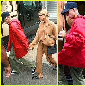 Justin Bieber Gives Thumbs Up After Lunch Date with Hailey Bieber