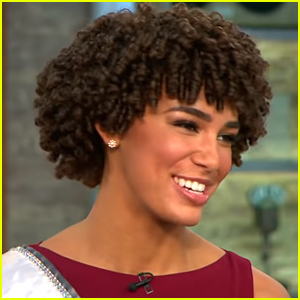 Miss Teen USA Kaliegh Garris Appears With Miss USA & Miss America on 'CBS This Morning'