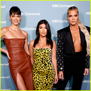 Kendall Jenner Joins Her Sisters at NBC Upfronts