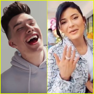 James Charles Parties With Kylie Jenner & Stormi After Canceling His Tour