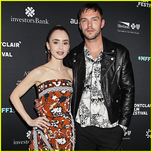 Lily Collins Is Joined By 'Tolkien' Supergroup at NJ Screening!