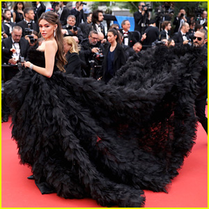 Madison Beer Makes Jaw Drops With Midnight Black Gown at Cannes Film Festival 2019