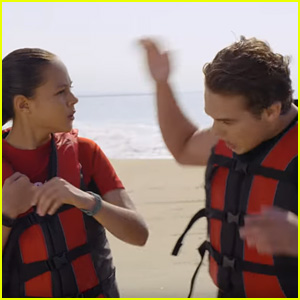 Breanna Yde Smacks Ricardo Hurtado On The Head in 'Malibu Rescue' Series Teaser