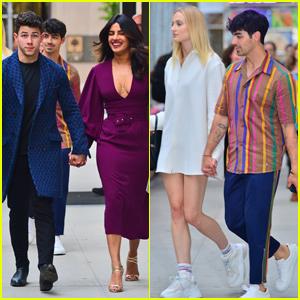 Nick & Joe Jonas Double Date With Wives Priyanka Chopra & Sophie Turner