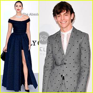 Nina Dobrev & Ross Lynch Get All Dressed Up for amfAR Cannes Gala!