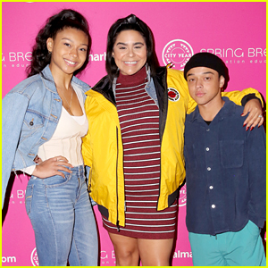 Sierra Capri Joins Jessica Marie Garcia & Jason Genao at City Year's Spring Break Event