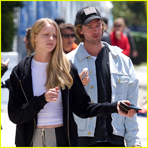 Patrick Schwarzenegger Had To Explain What This Word Meant in German To His Fans