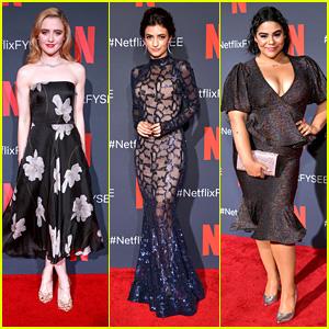 Kathryn Newton, Soni Bringas & Jessica Marie Garcia Turn Heads at Netflix's 'Prom Night' Event