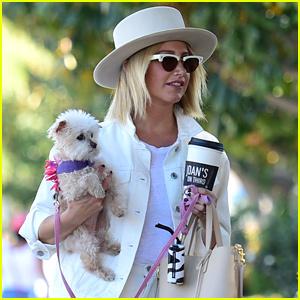 Ashley Tisdale's Beloved Dog Maui Passes Away