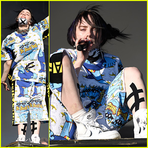 Billie Eilish Tells Fans To Be In The Moment at Glastonbury Festival 2019