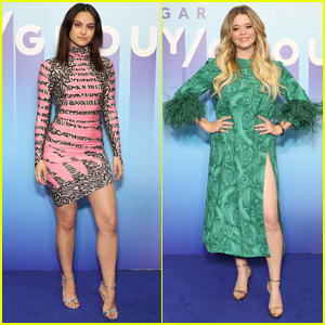 Camila Mendes & Sasha Pieterse Go Glam for Popsugar Play/Ground 2019!