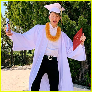 Carson Lueders is a High School Graduate!