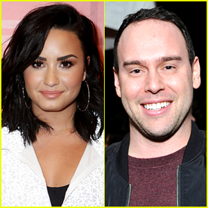 Demi Lovato Sides with Scooter Braun, Slams Todrick Hall for Calling Her Manager Homophobic