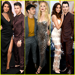 Jonas Brothers Premiere 'Chasing Happiness' with the J Sisters!