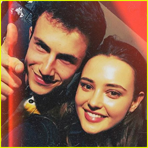 Katherine Langford Reunites With Dylan Minnette at Wallows Show