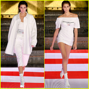 Kendall Jenner & Kaia Gerber Walk in Alexander Wang Show in NYC