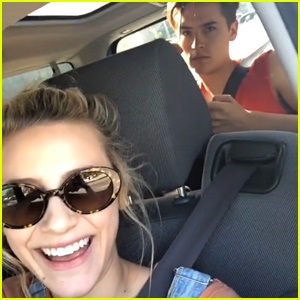 Lili Reinhart Catches Cole Sprouse Playing With His Hair - See His Hilarious Reaction!