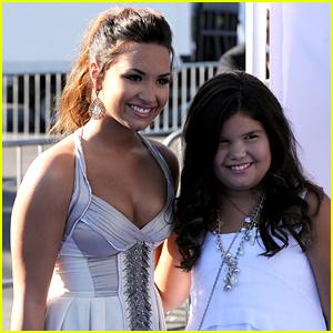 Madison De La Garza Gets Big Sister Demi Lovato's Support at Her Graduation!