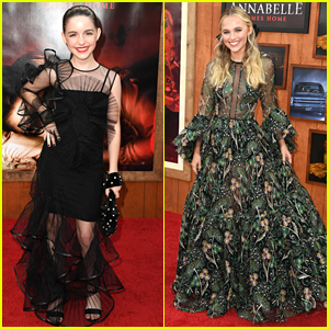 McKenna Grace & Madison Iseman Premiere Their New Film 'Annabelle Comes Home' in LA