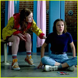 Millie Bobby Brown & Sadie Sink Dish On Eleven & Max's Friendship in 'Stranger Things' Season 3