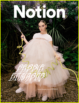 Perrie Edwards Gushes Over Boyfriend Alex Oxlade-Chamberlain in 'Notion' Magazine
