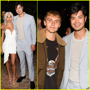 Ross Butler Suits Up For 'Superdown' Launch Party!