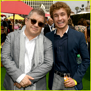 Sean Giambrone Supports Patton Oswalt at the 'Secret Life of Pets 2' Premiere!