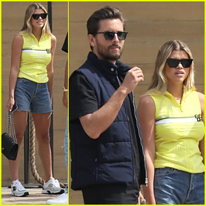Sofia Richie Grabs Lunch With Scott Disick & A Pal in LA