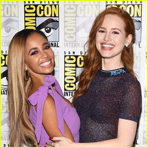 Vanessa Morgan Shares BTS Video Of Her & Madelaine Petsch 'Picking Out Snakes'