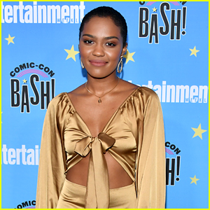 China McClain Talks What's Next for Her Character on 'Black Lightning'!