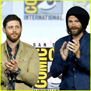 Jensen Ackles & Jared Padalecki Shed Tears During the 'Supernatural' Panel at Comic-Con 2019