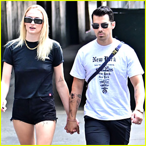 Joe Jonas Puts His Waldo Tattoo on Display While out with Sophie Turner
